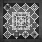 Quilting Cousins BOM Applique Grey