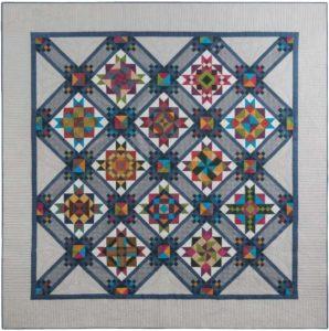 Stargazing quilt