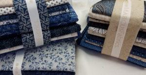 Fabrics for Mrs. Miller's Apprentice quilt